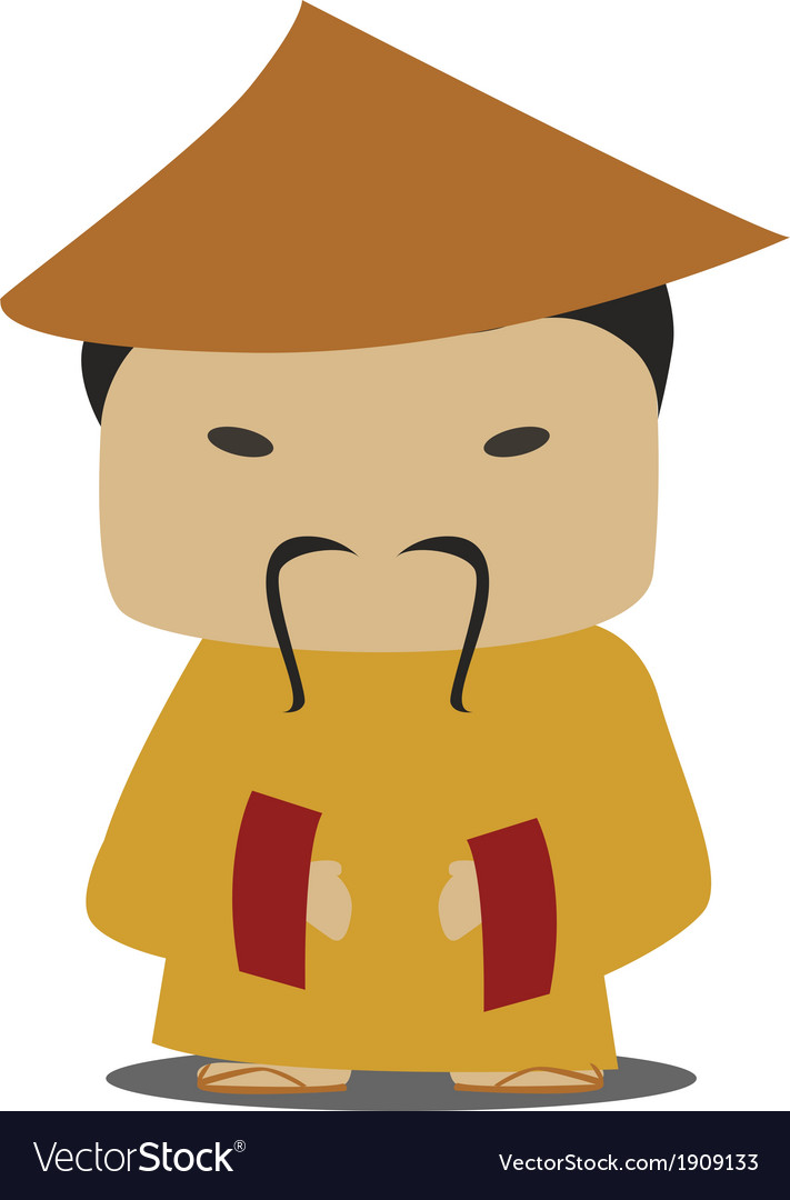 Chinese person vector   Price: 1 Credit (USD $1)