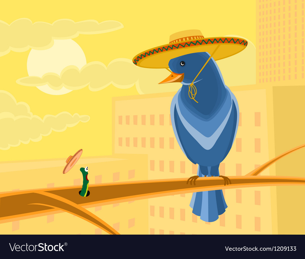 Mexican nature vector | Price: 1 Credit (USD $1)