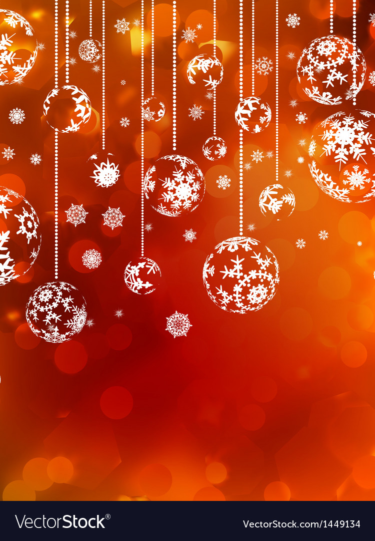 Abstract christmas with snowflake eps 10 vector | Price: 1 Credit (USD $1)