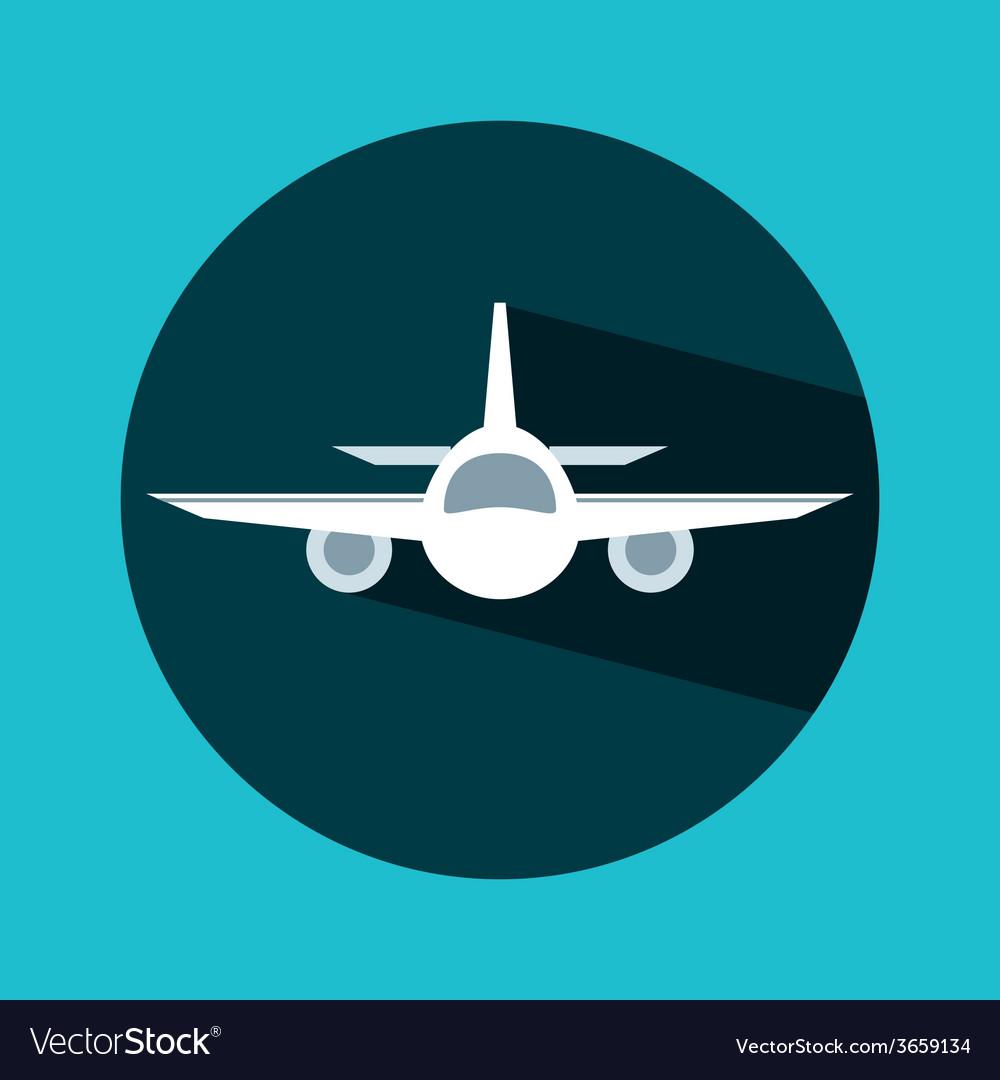 Airplane travel vector   Price: 1 Credit (USD $1)