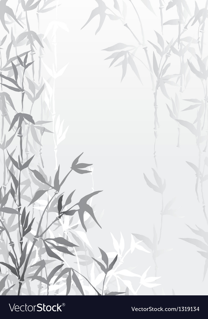 Bamboo forest vector | Price: 1 Credit (USD $1)