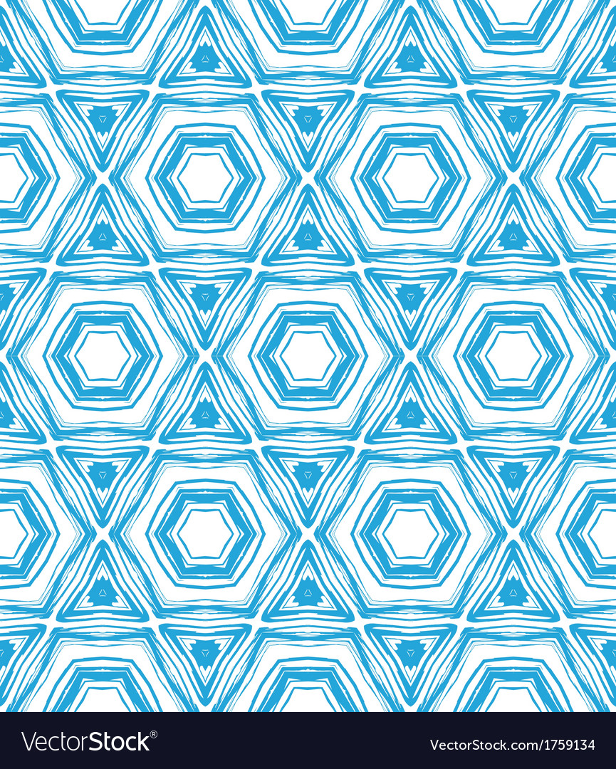 Pattern with star shapes in blue and white vector | Price: 1 Credit (USD $1)