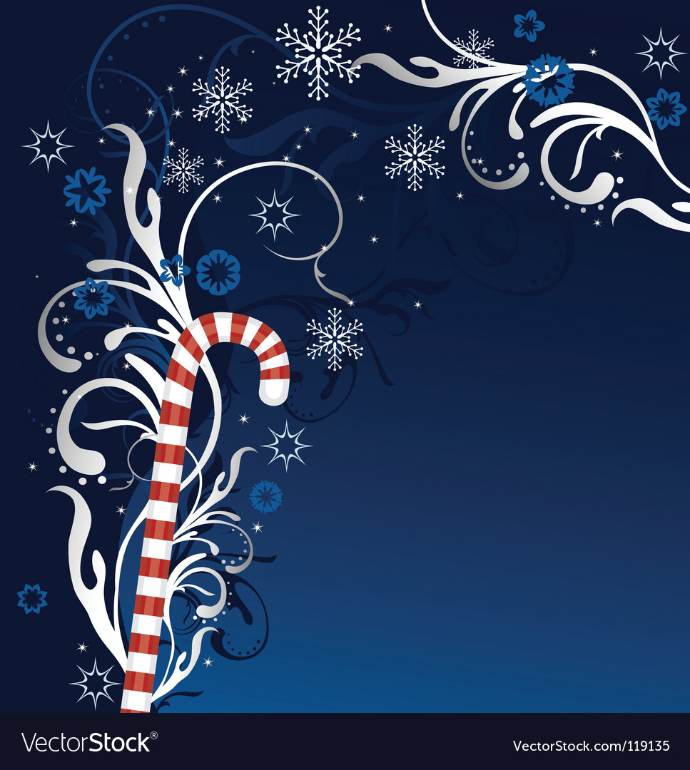 Candy cane vector | Price: 1 Credit (USD $1)