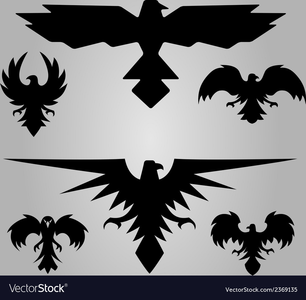 Eagles stylised vector | Price: 1 Credit (USD $1)