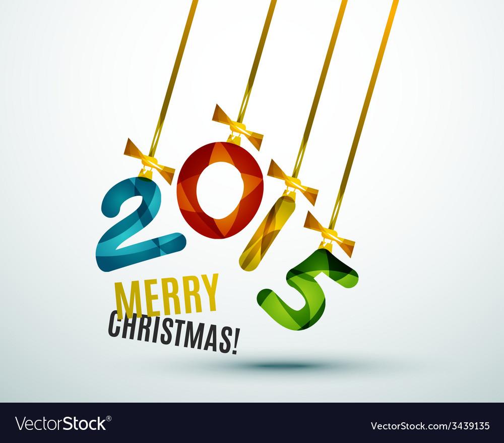 Happy new year concept vector | Price: 1 Credit (USD $1)