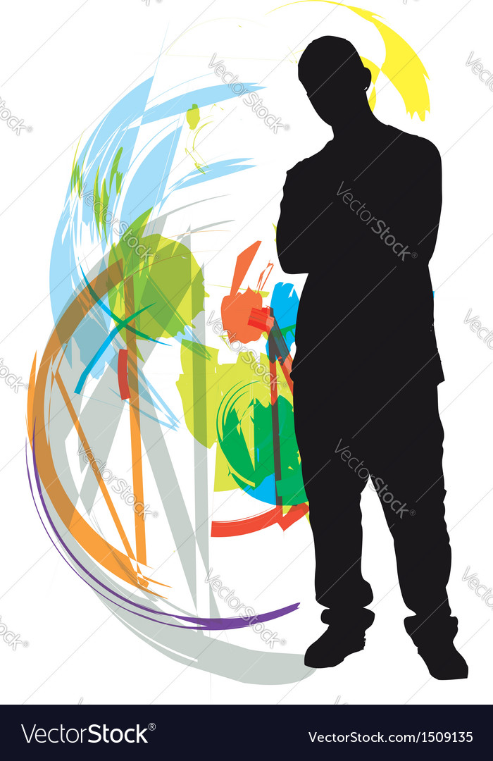 Teenagers vector | Price: 1 Credit (USD $1)