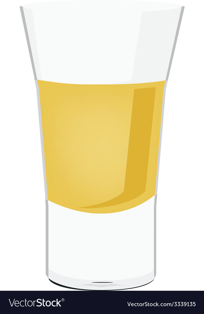 Tequila shot vector | Price: 1 Credit (USD $1)