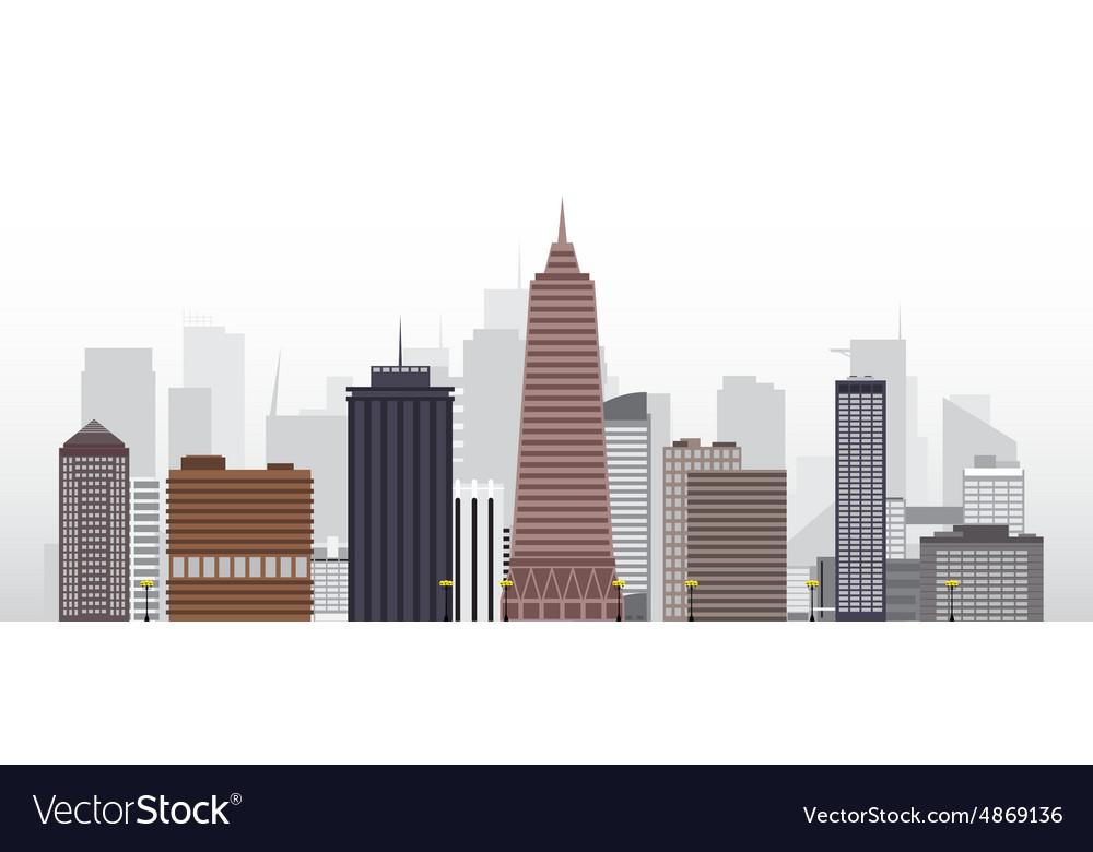 City 2 vector