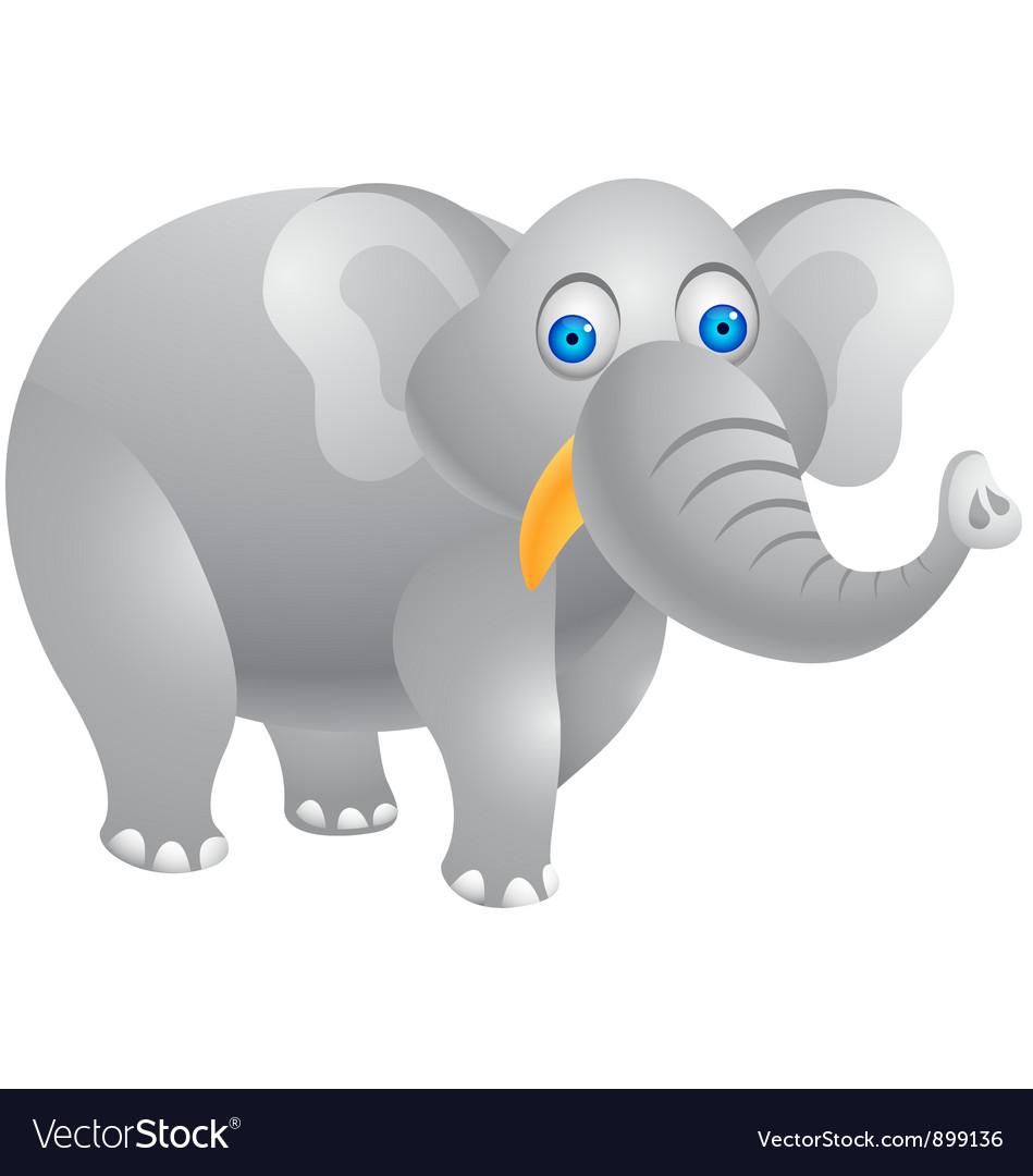 Elephant cartoon vector   Price: 1 Credit (USD $1)