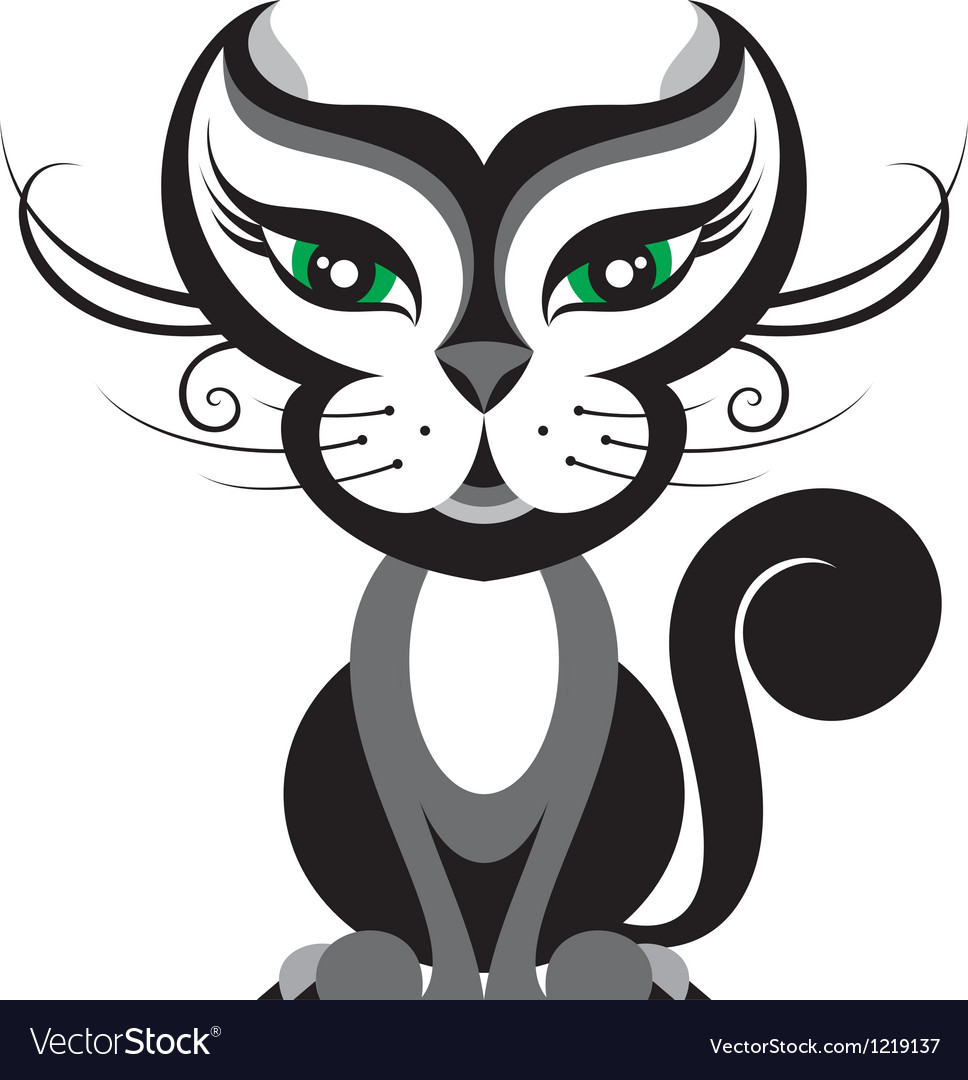 Cat vector | Price: 3 Credit (USD $3)
