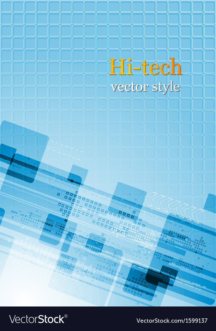 Colourful abstract hi-tech vector | Price: 1 Credit (USD $1)