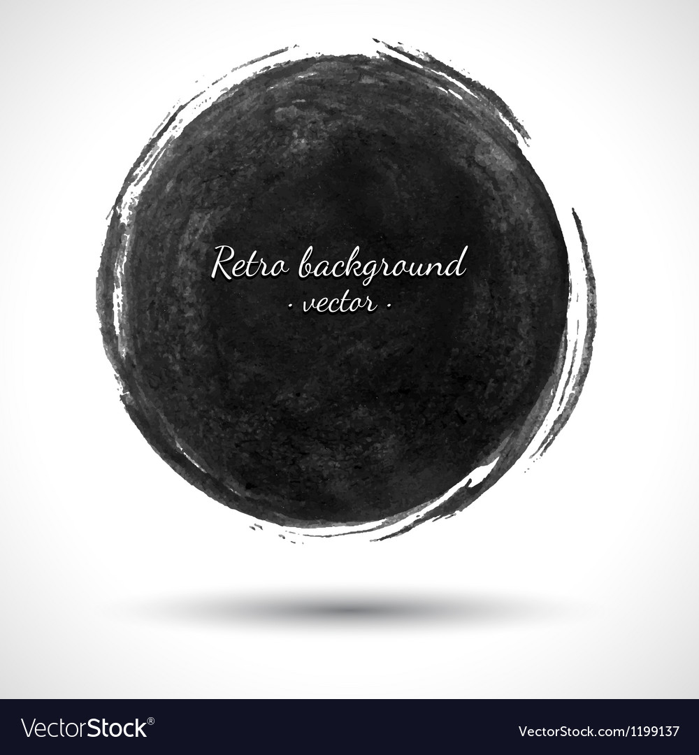 Grunge round shape vector | Price: 1 Credit (USD $1)