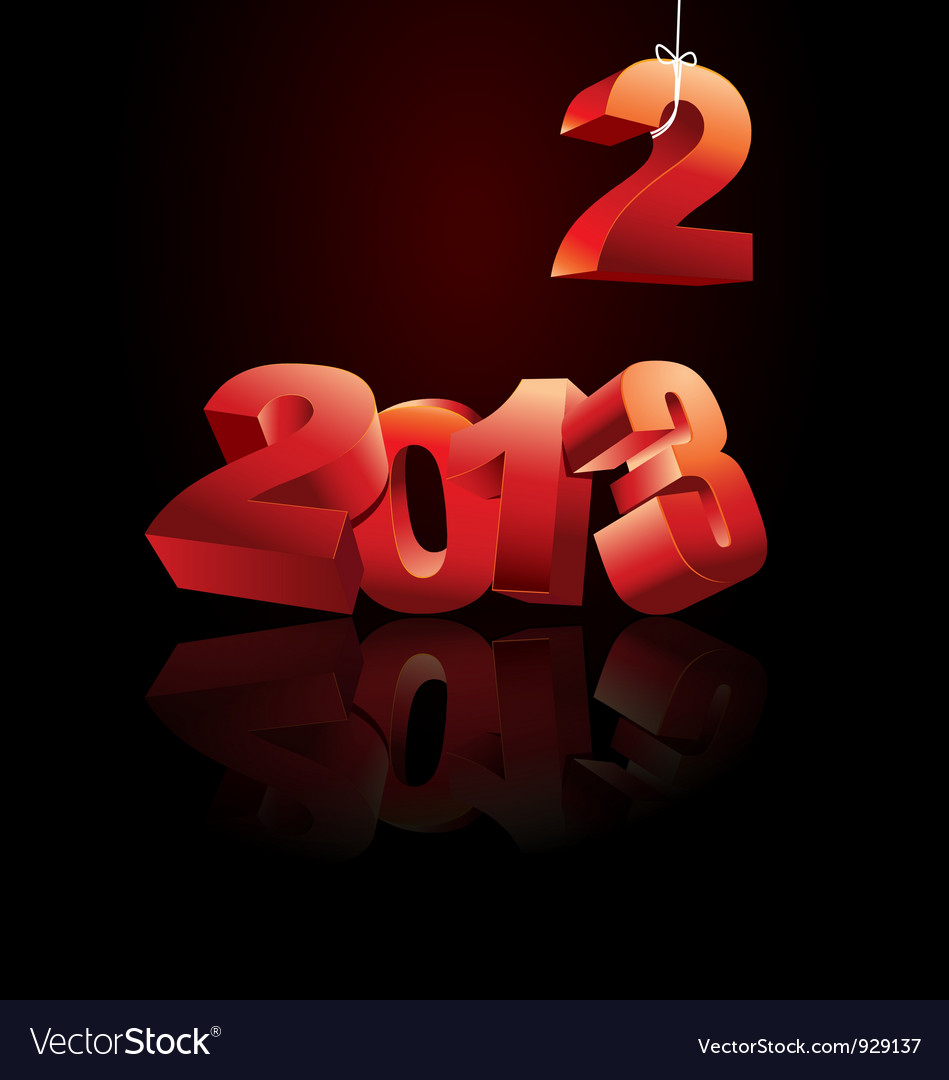 New year vector | Price: 3 Credit (USD $3)