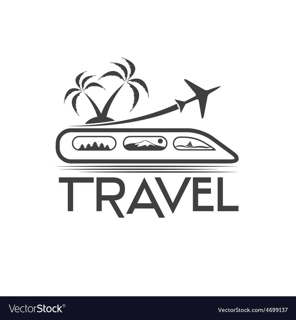 Travel design template vector | Price: 1 Credit (USD $1)