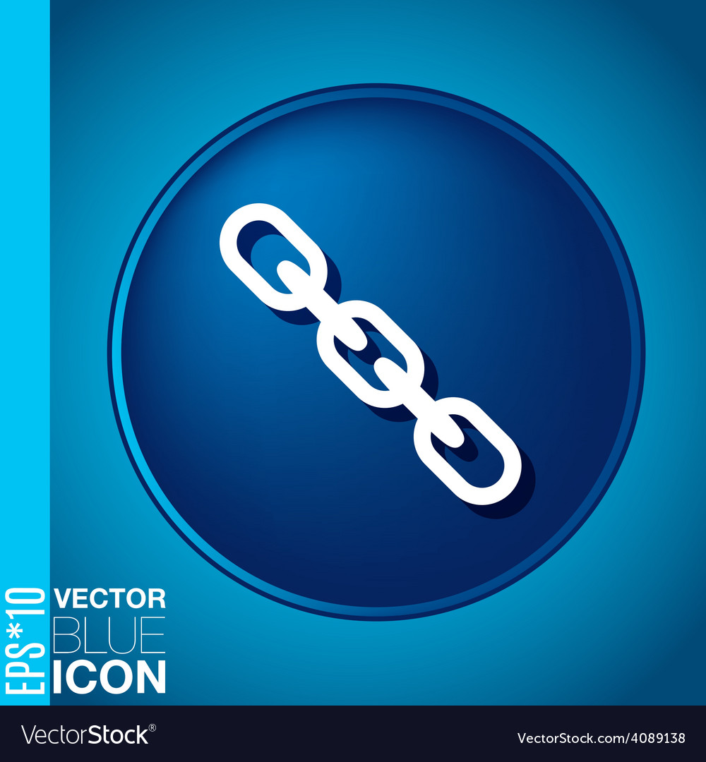 Links chain icon vector | Price: 1 Credit (USD $1)