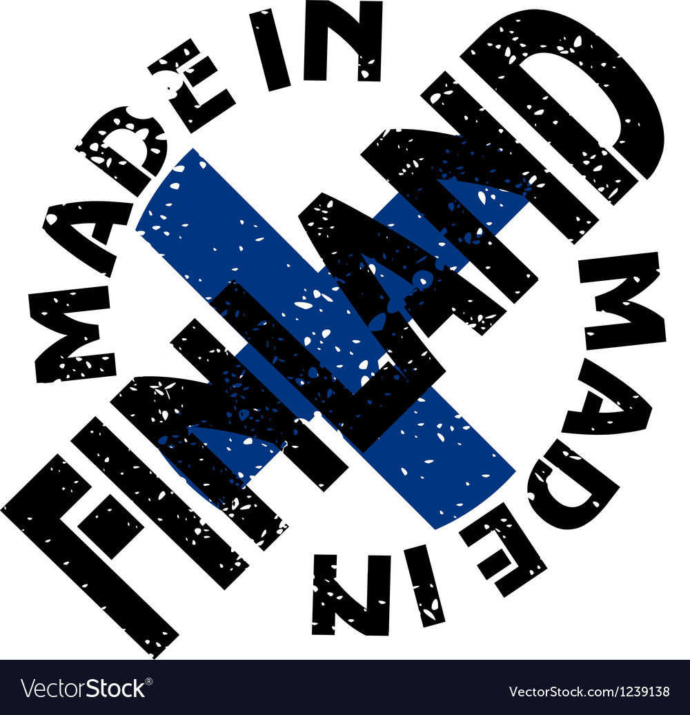 Made in finland vector | Price: 1 Credit (USD $1)