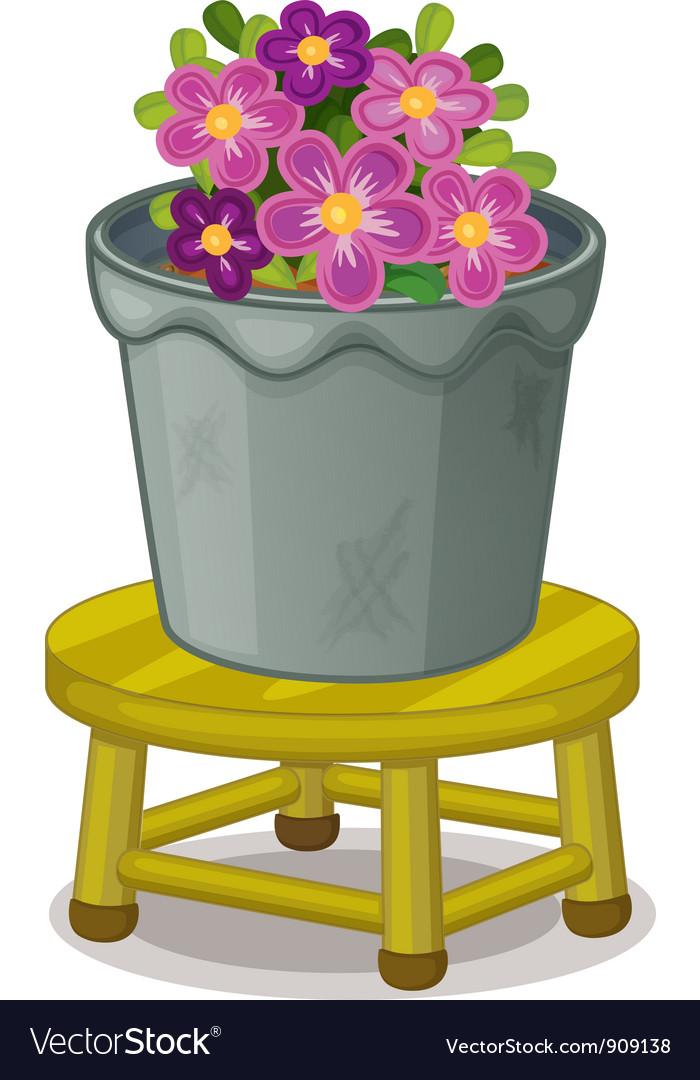 Pot plant vector | Price: 1 Credit (USD $1)