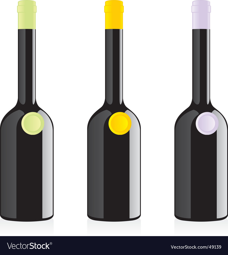 Balsamic vinegar bottles set vector | Price: 1 Credit (USD $1)