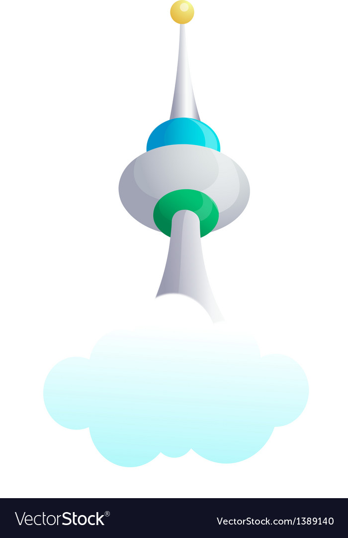 Icon tower vector | Price: 1 Credit (USD $1)