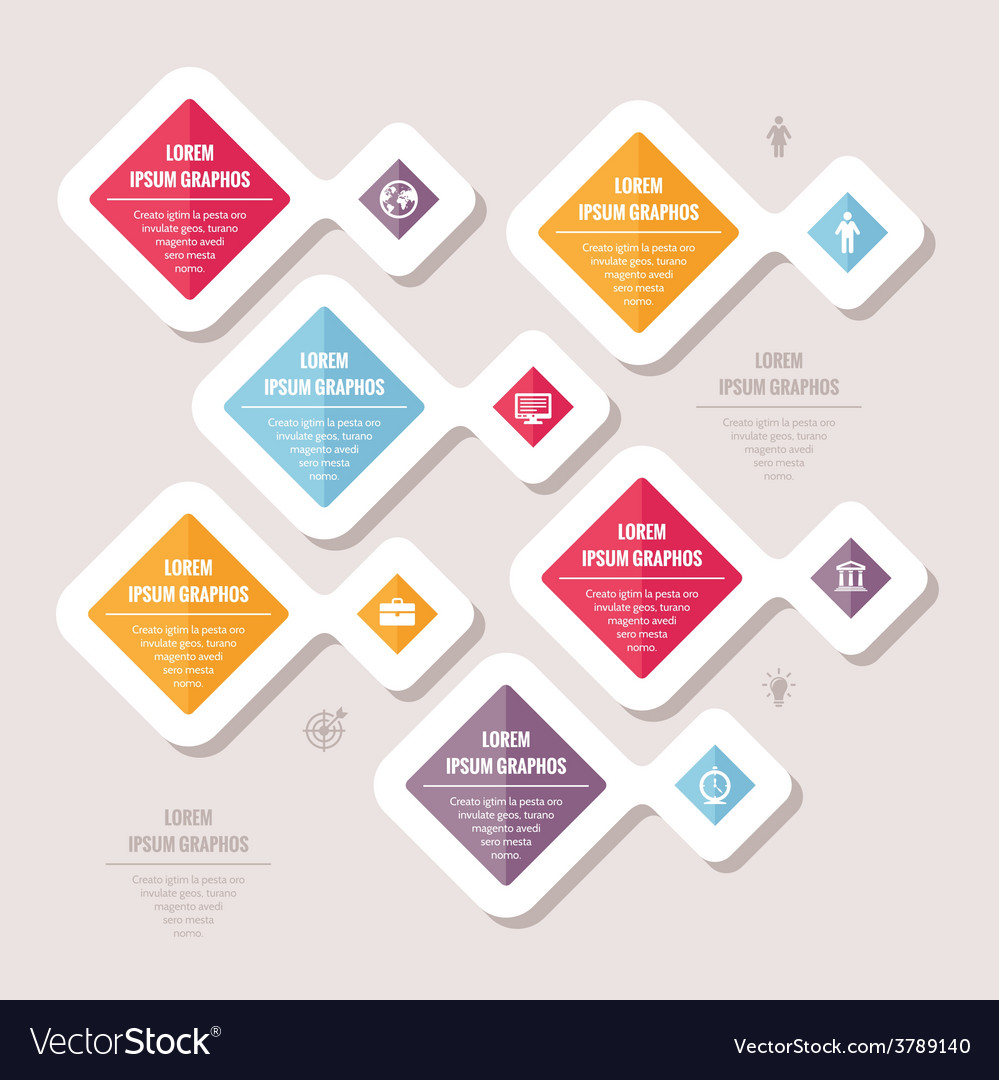 Infographic business concept vector | Price: 1 Credit (USD $1)