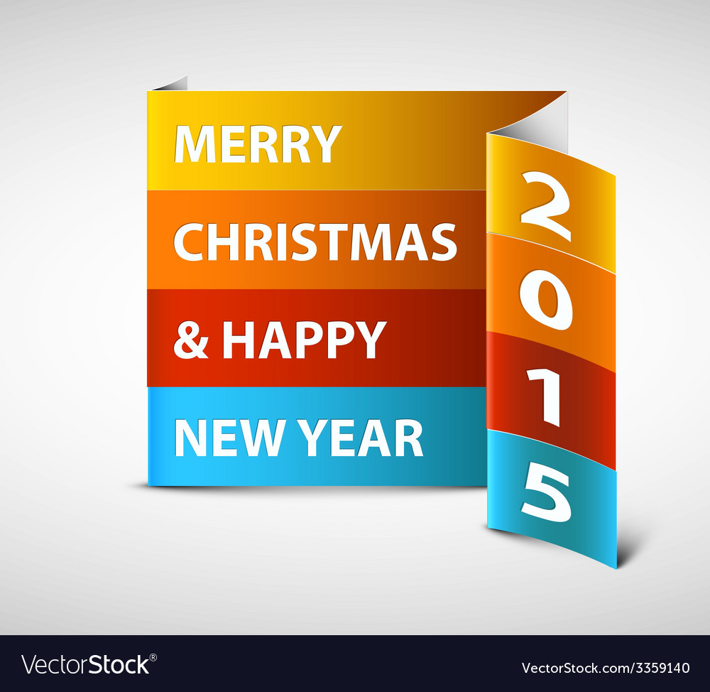 Original new year 2015 card vector | Price: 1 Credit (USD $1)