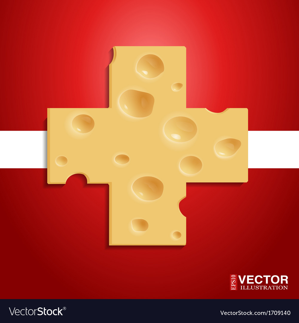 Swiss cheese vector | Price: 1 Credit (USD $1)