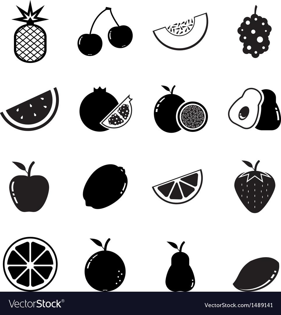 Fruit icon vector | Price: 1 Credit (USD $1)
