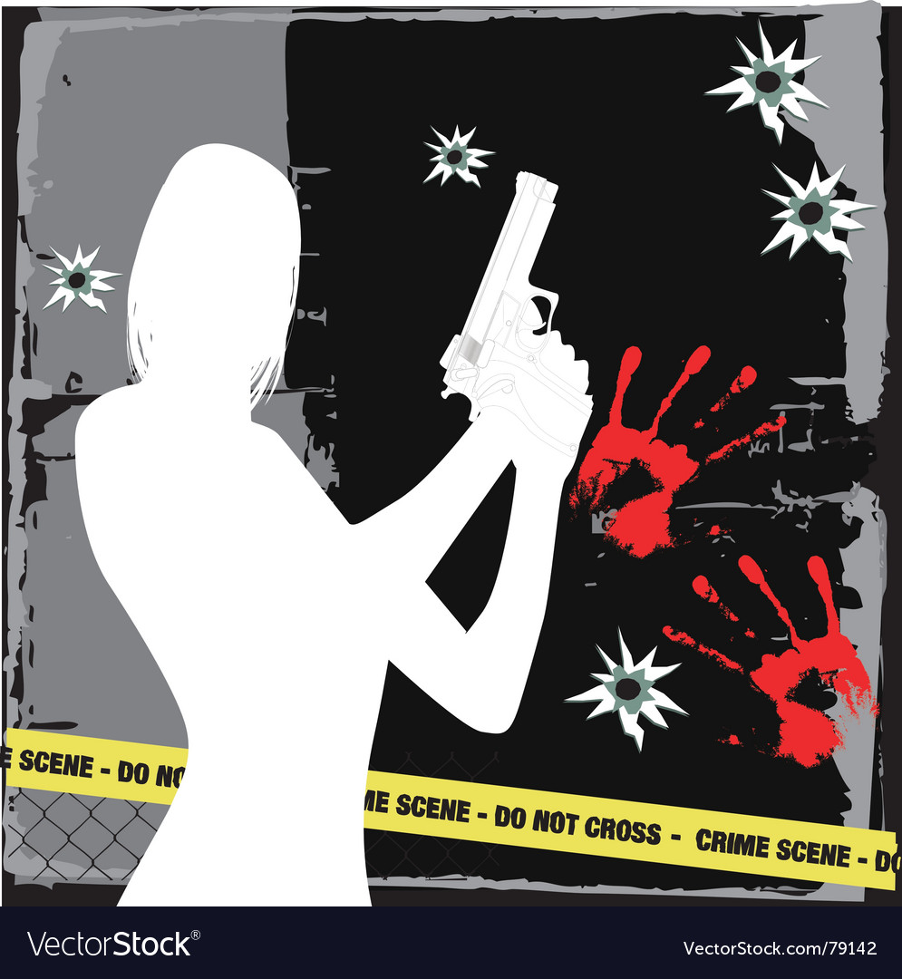 Crime vector | Price: 1 Credit (USD $1)