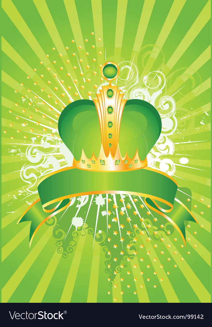 Crown poster vector | Price: 1 Credit (USD $1)
