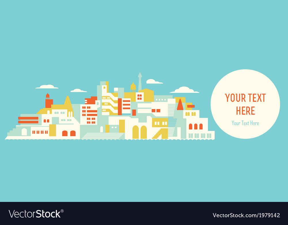 House set asian city vector | Price: 1 Credit (USD $1)
