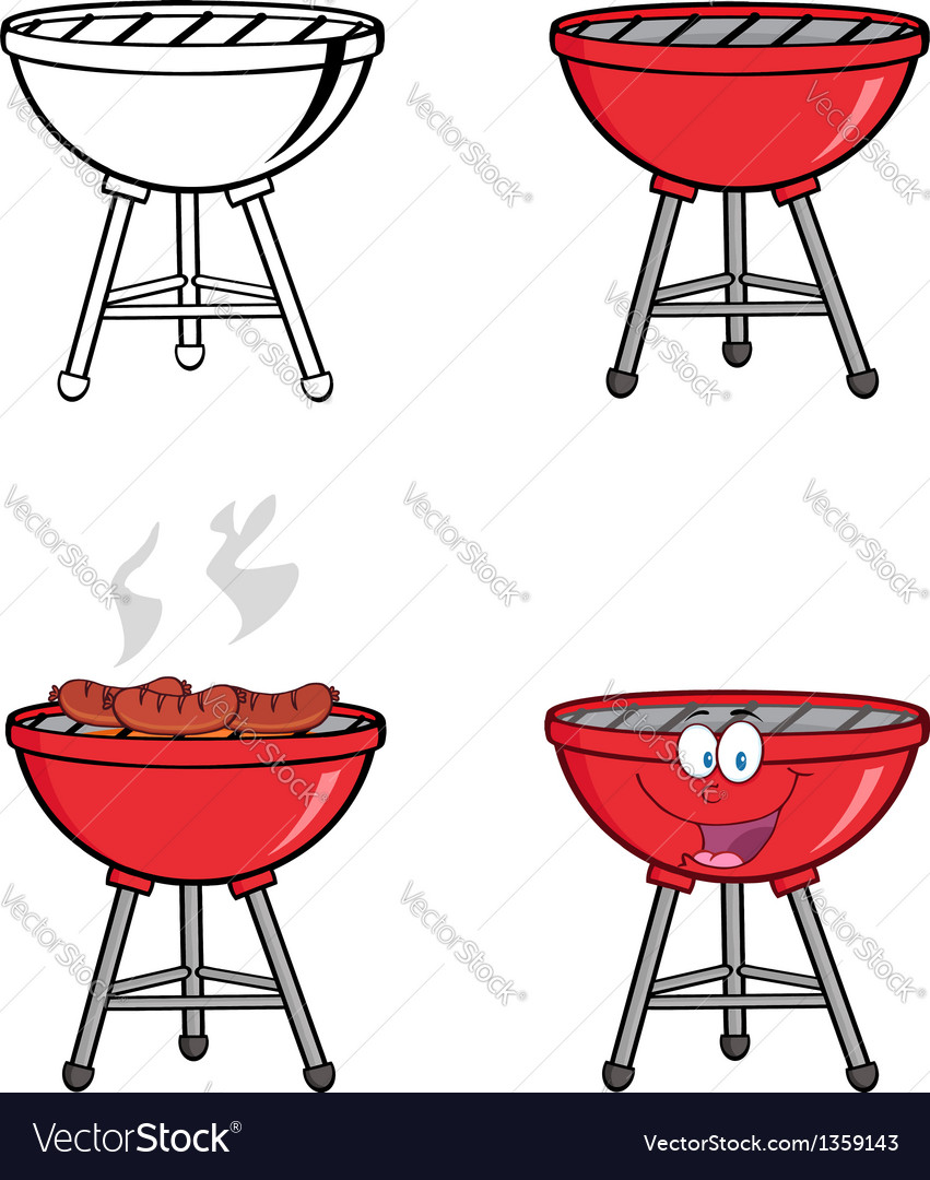Barbecues collection vector | Price: 1 Credit (USD $1)