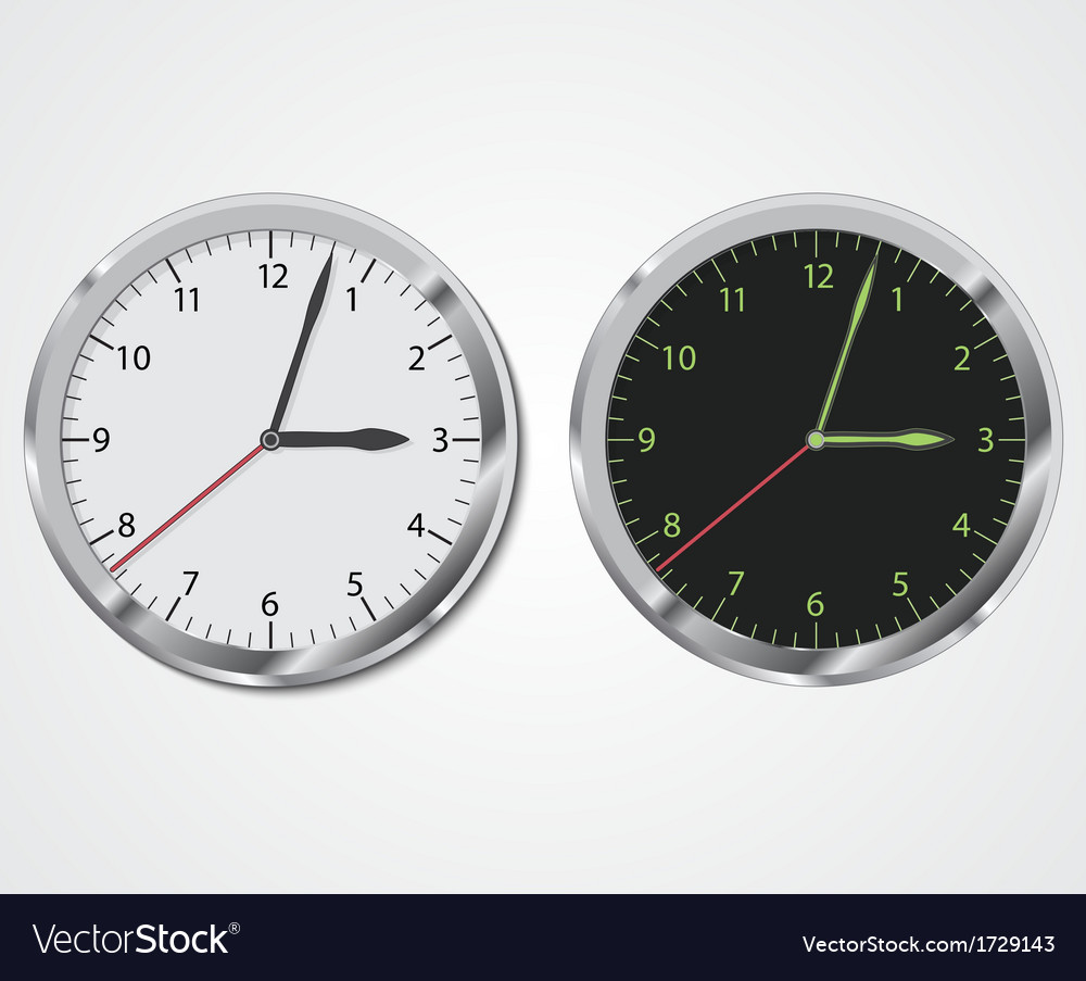 Clock eps10 vector | Price: 1 Credit (USD $1)