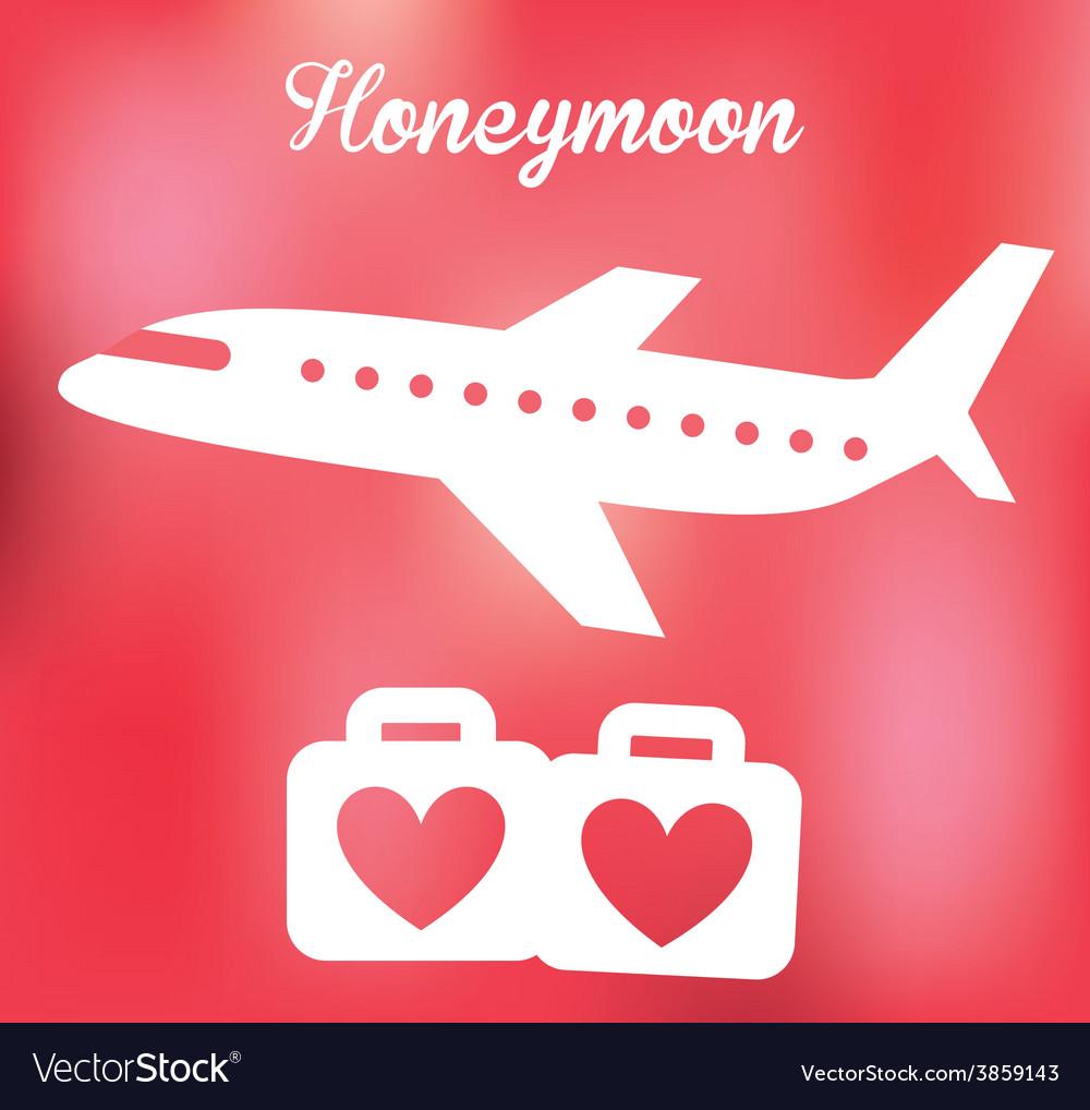 Honeymoon vector | Price: 1 Credit (USD $1)