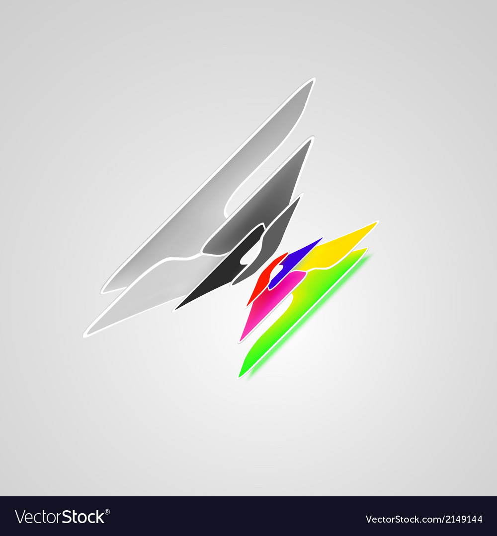Abstract high tech background vector | Price: 1 Credit (USD $1)