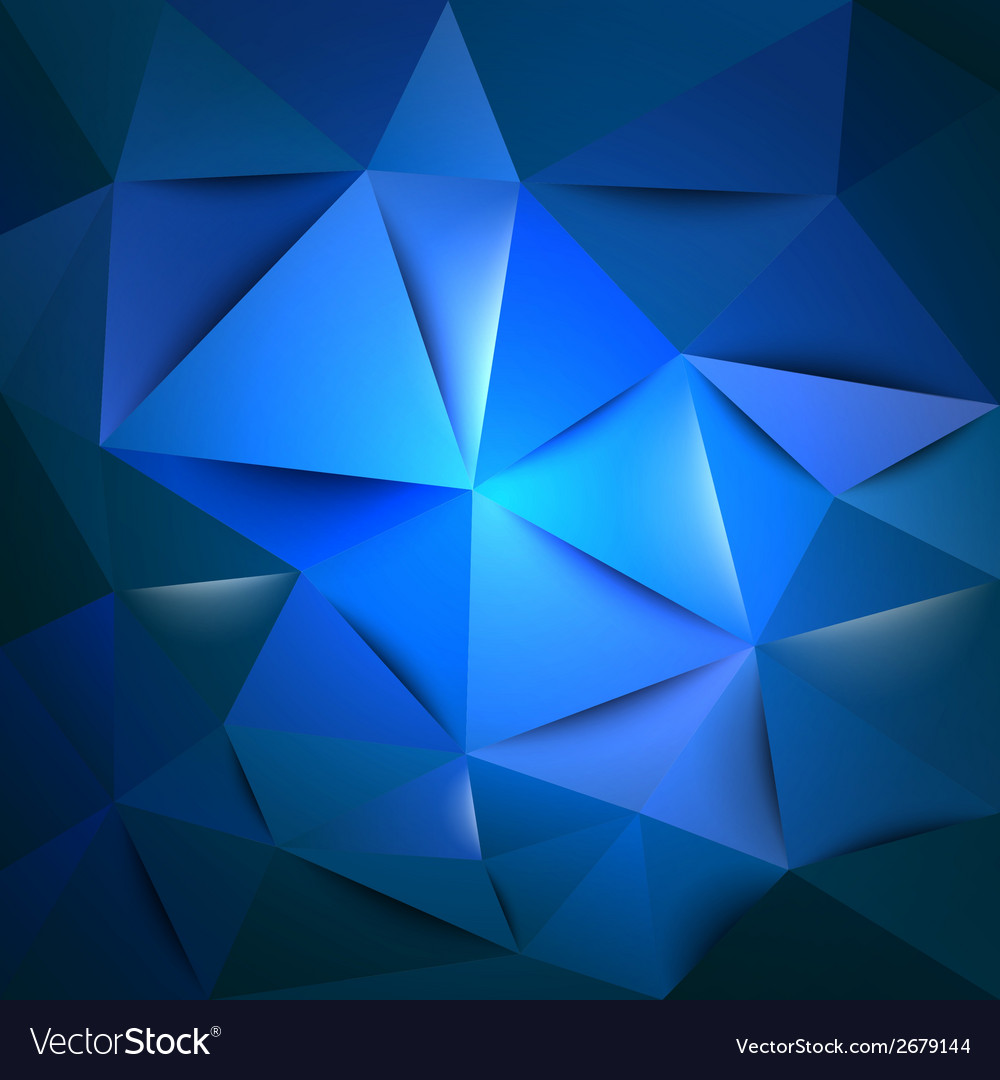 Triangles blue vector | Price: 1 Credit (USD $1)