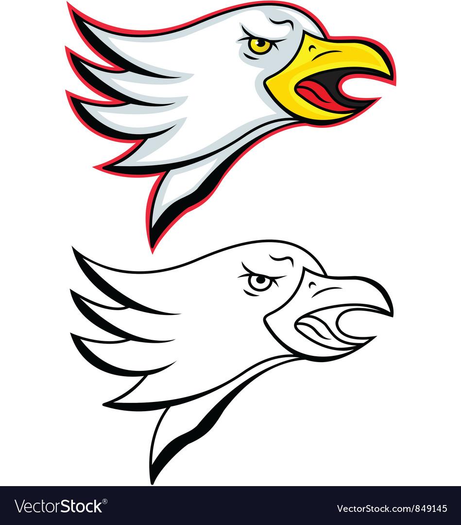 Eagle head vector   Price: 1 Credit (USD $1)
