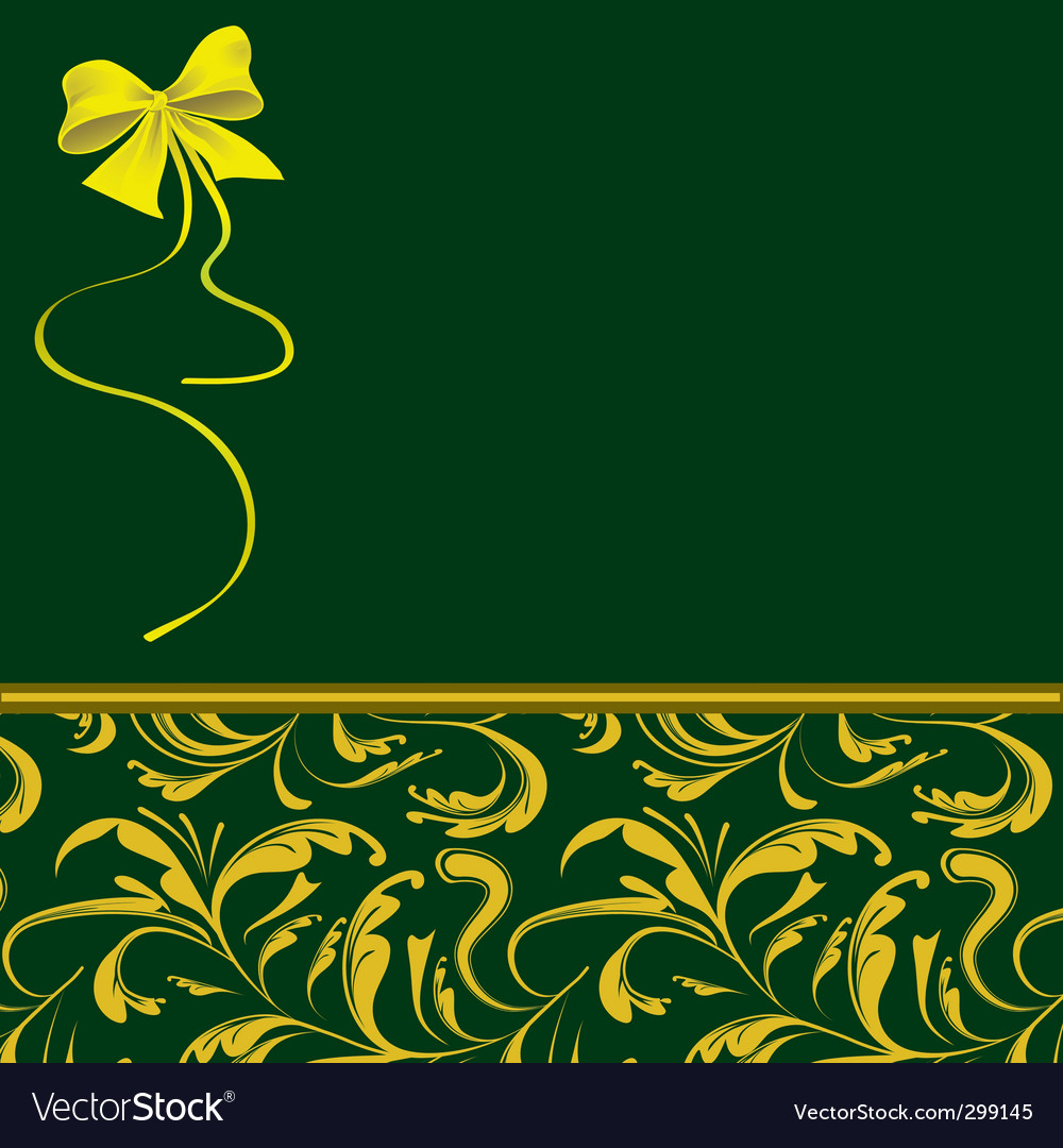 Green packaging for holiday gifts vector | Price: 1 Credit (USD $1)