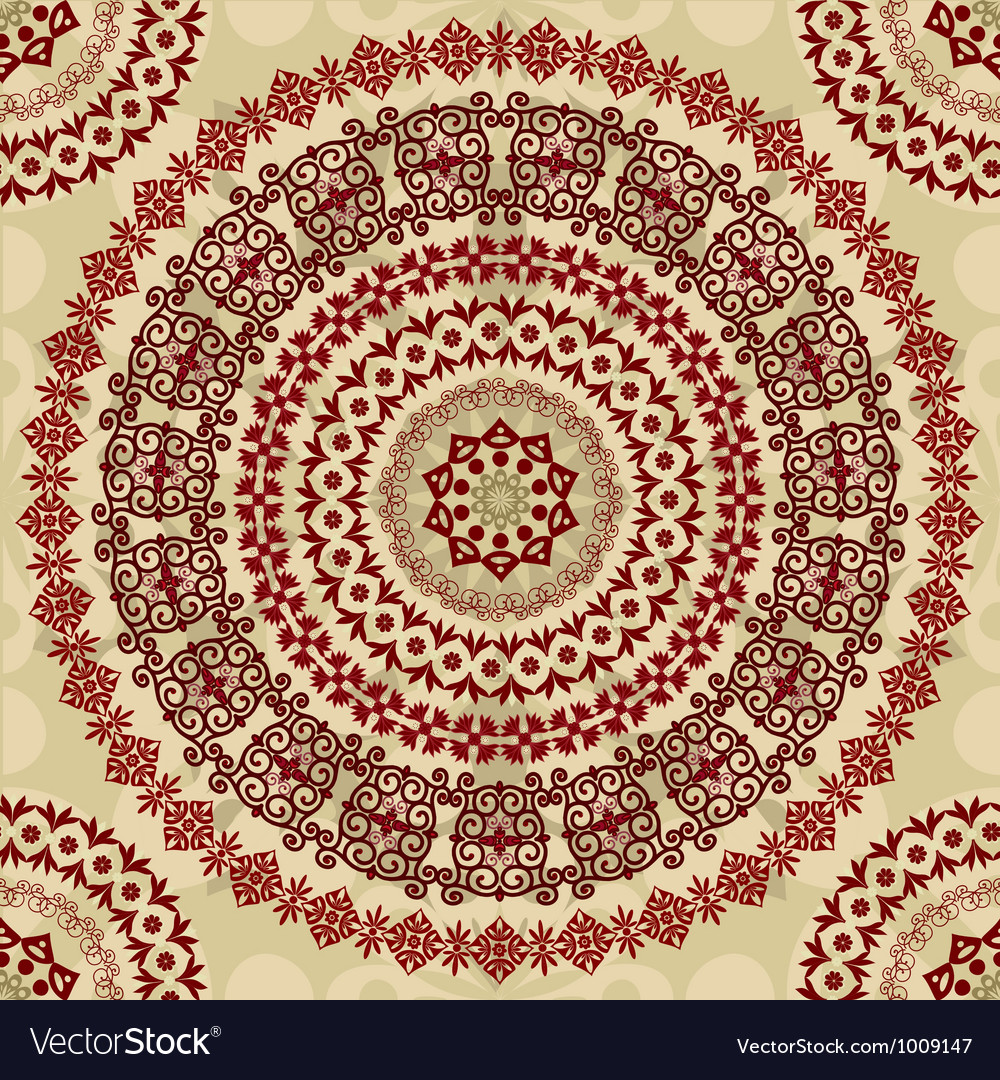 Arabesque seamless2 vector | Price: 1 Credit (USD $1)