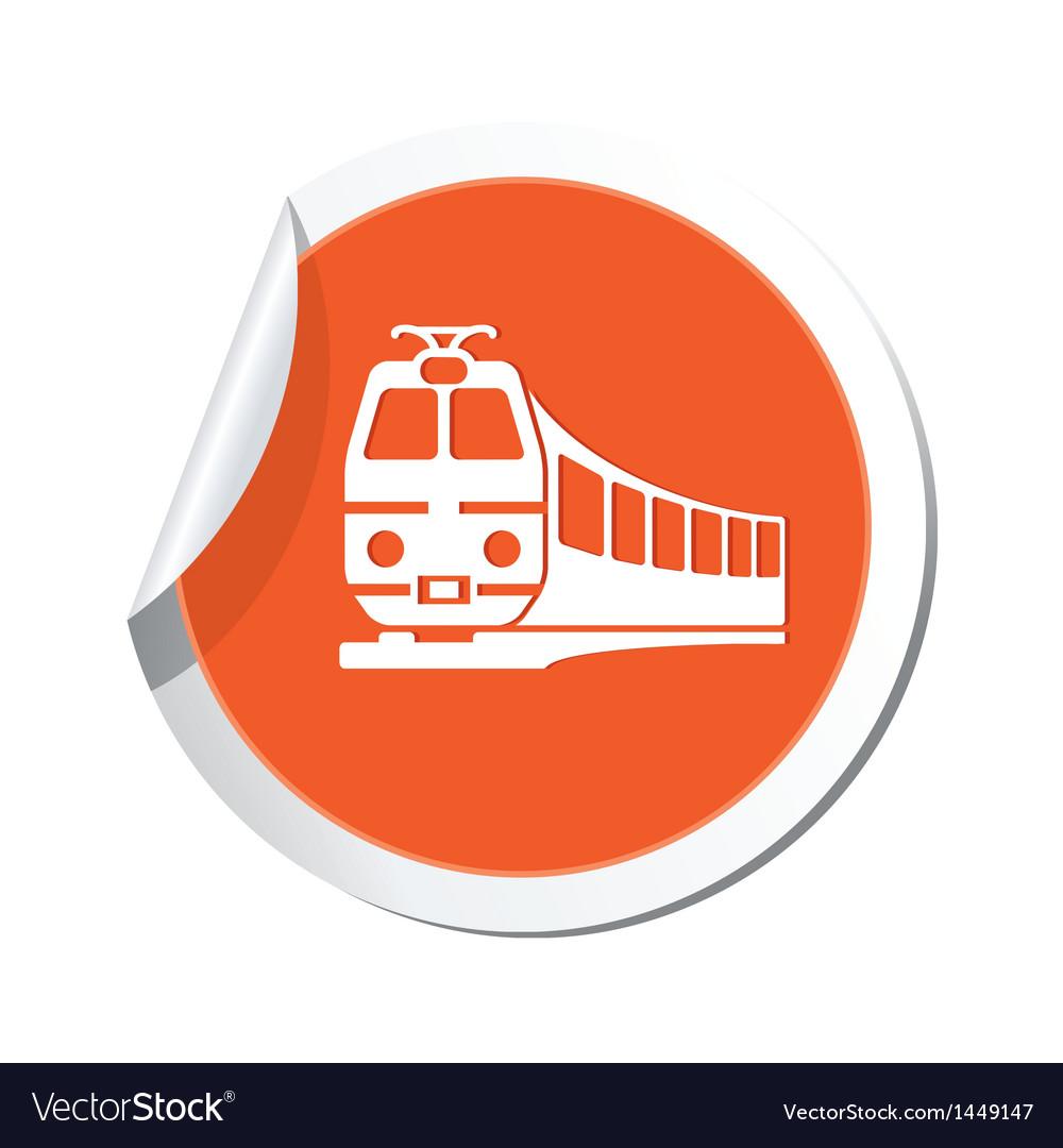 Train symbol vector | Price: 1 Credit (USD $1)