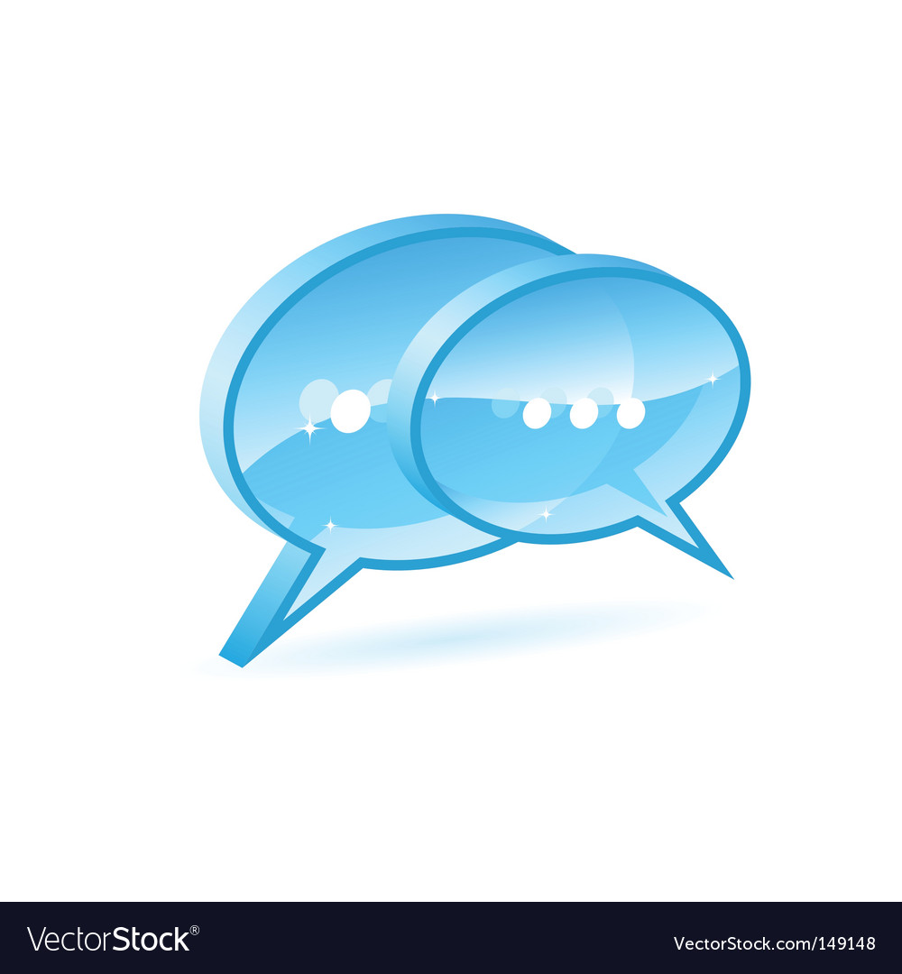 Chat box vector | Price: 1 Credit (USD $1)