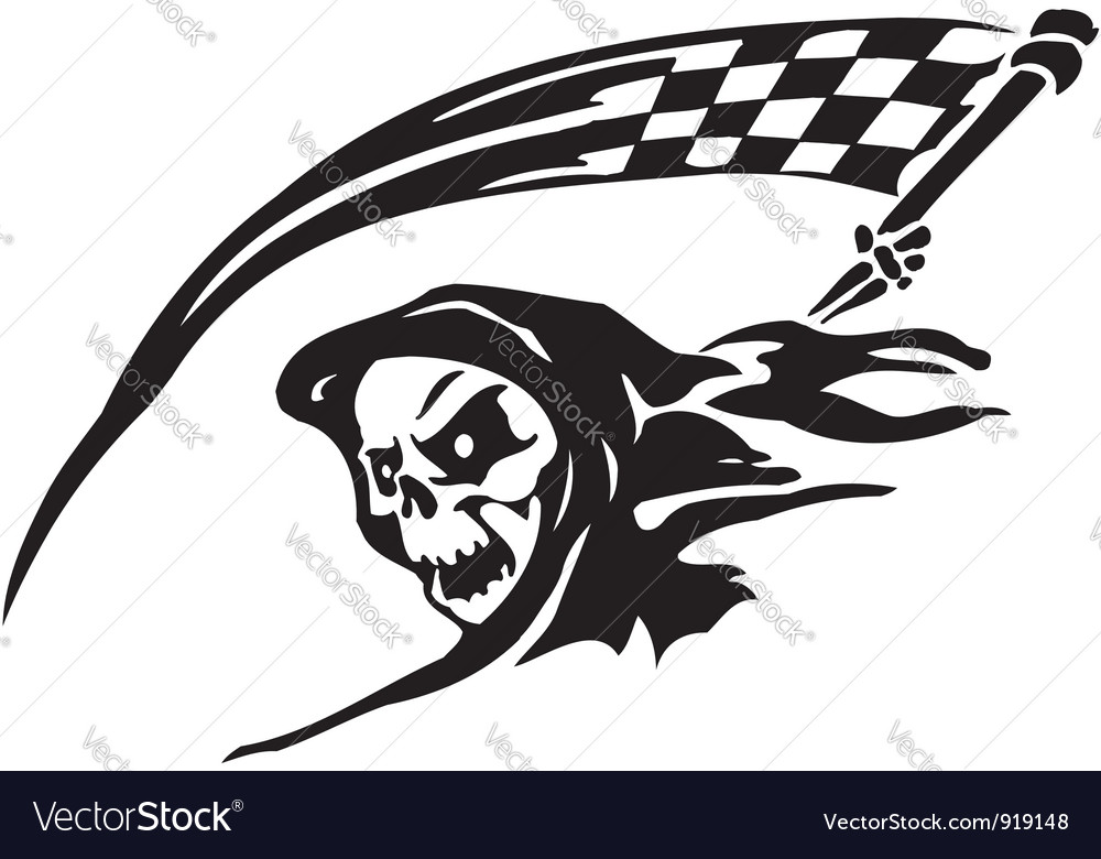 Race sign - vector | Price: 1 Credit (USD $1)