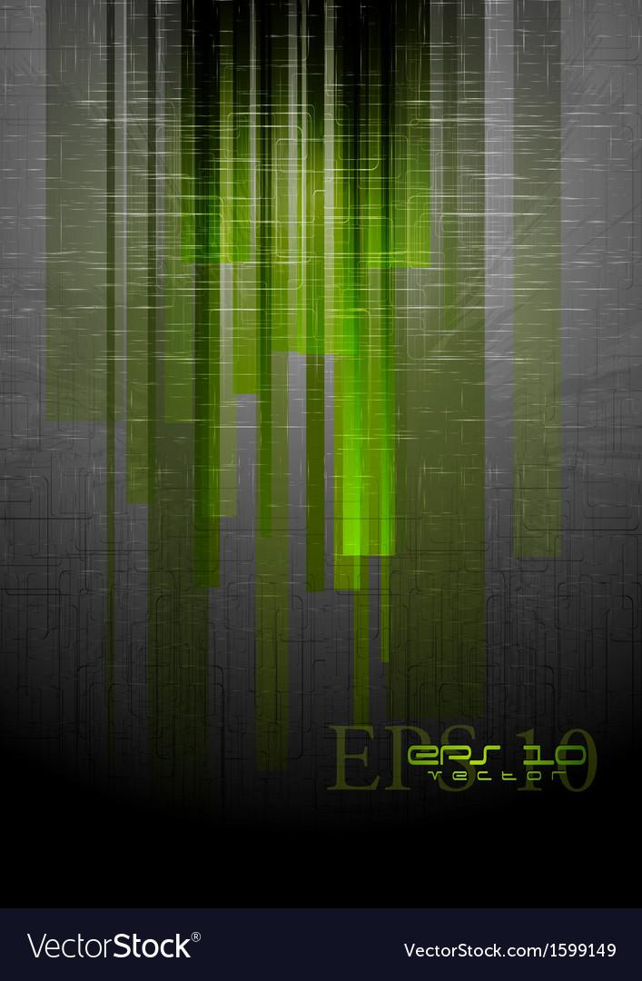 Abstract grunge hi-tech design vector | Price: 1 Credit (USD $1)
