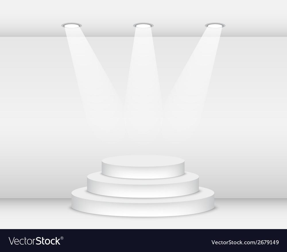 Podium vector | Price: 1 Credit (USD $1)