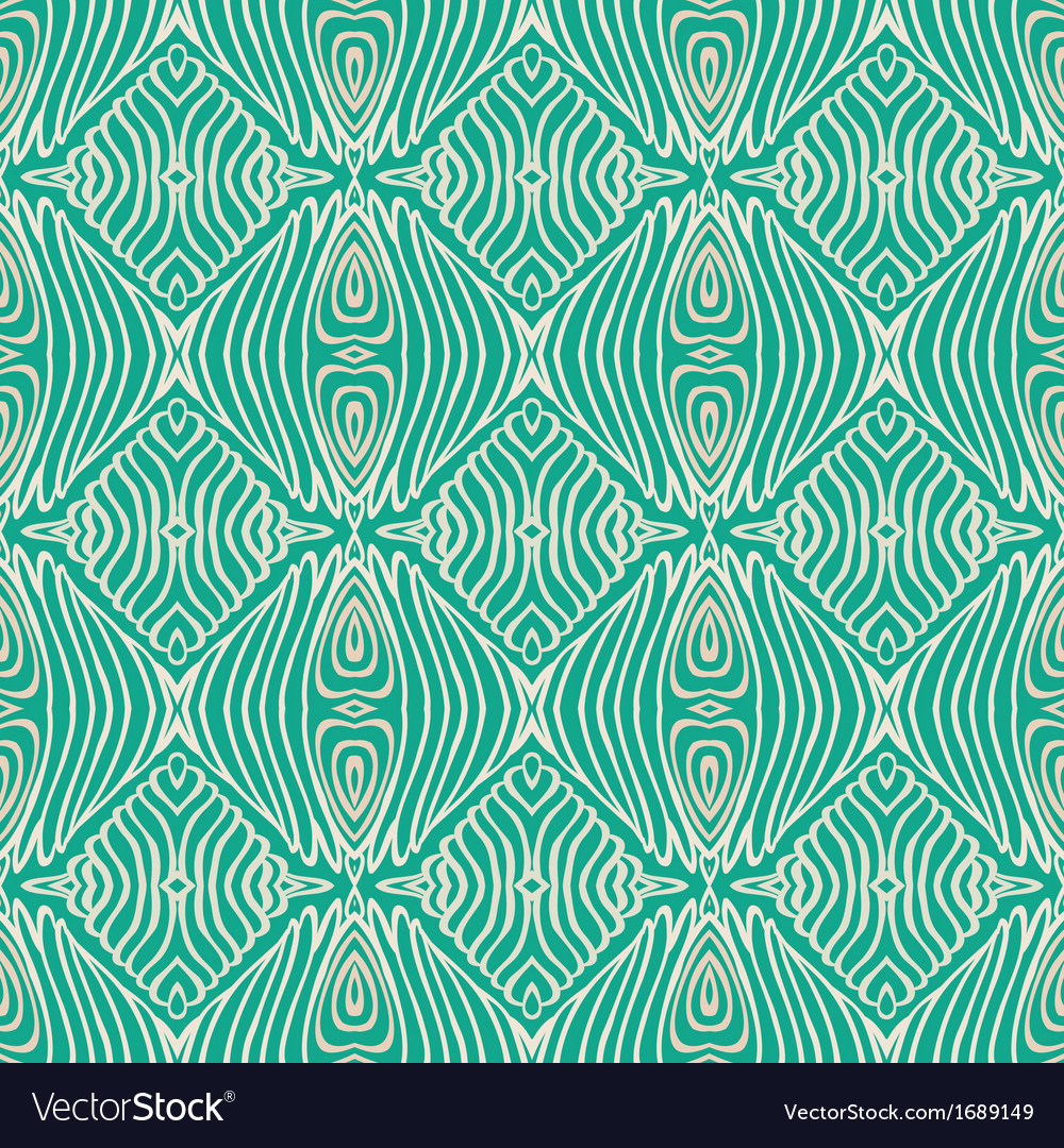 Retro grunge pattern fifties textile design vector | Price: 1 Credit (USD $1)
