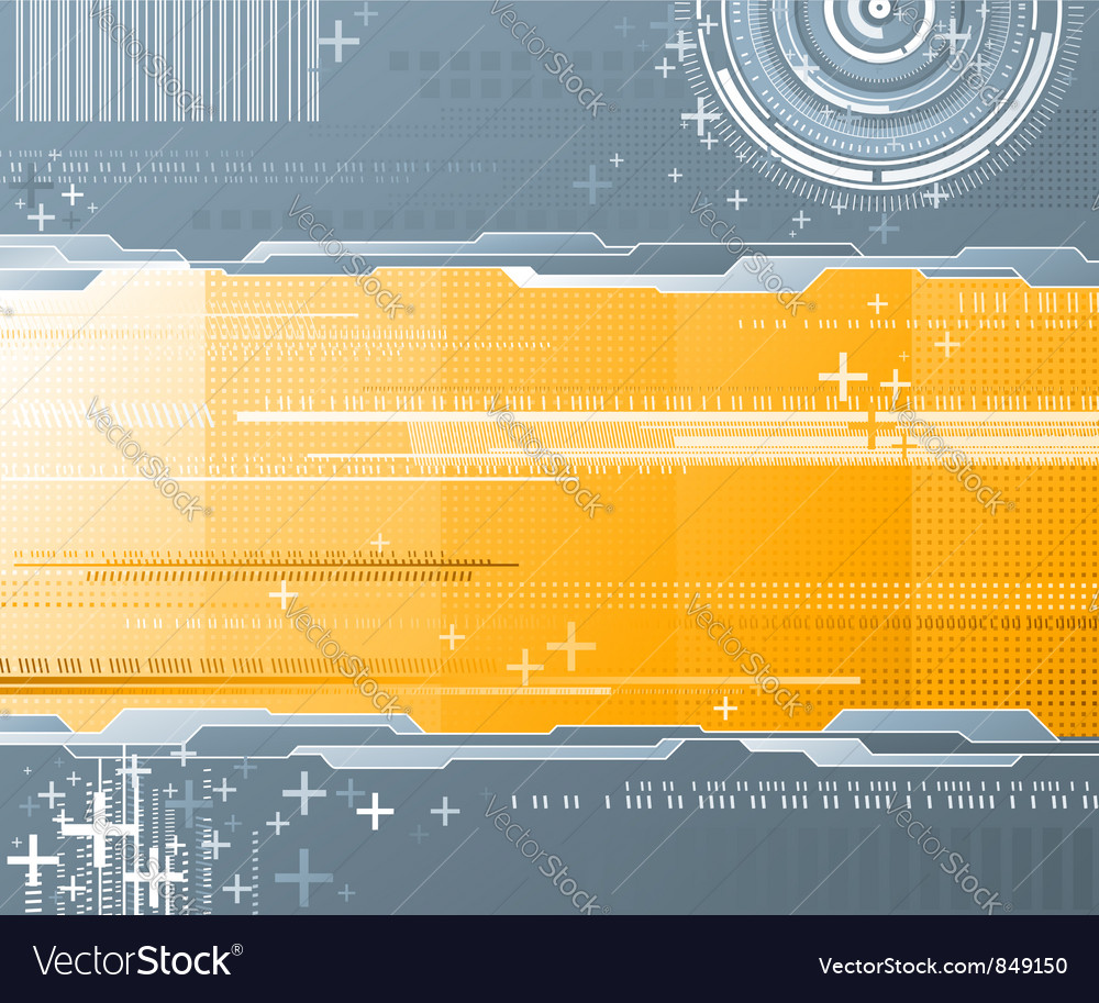 Abstract background - futuristic high tech design vector | Price: 1 Credit (USD $1)