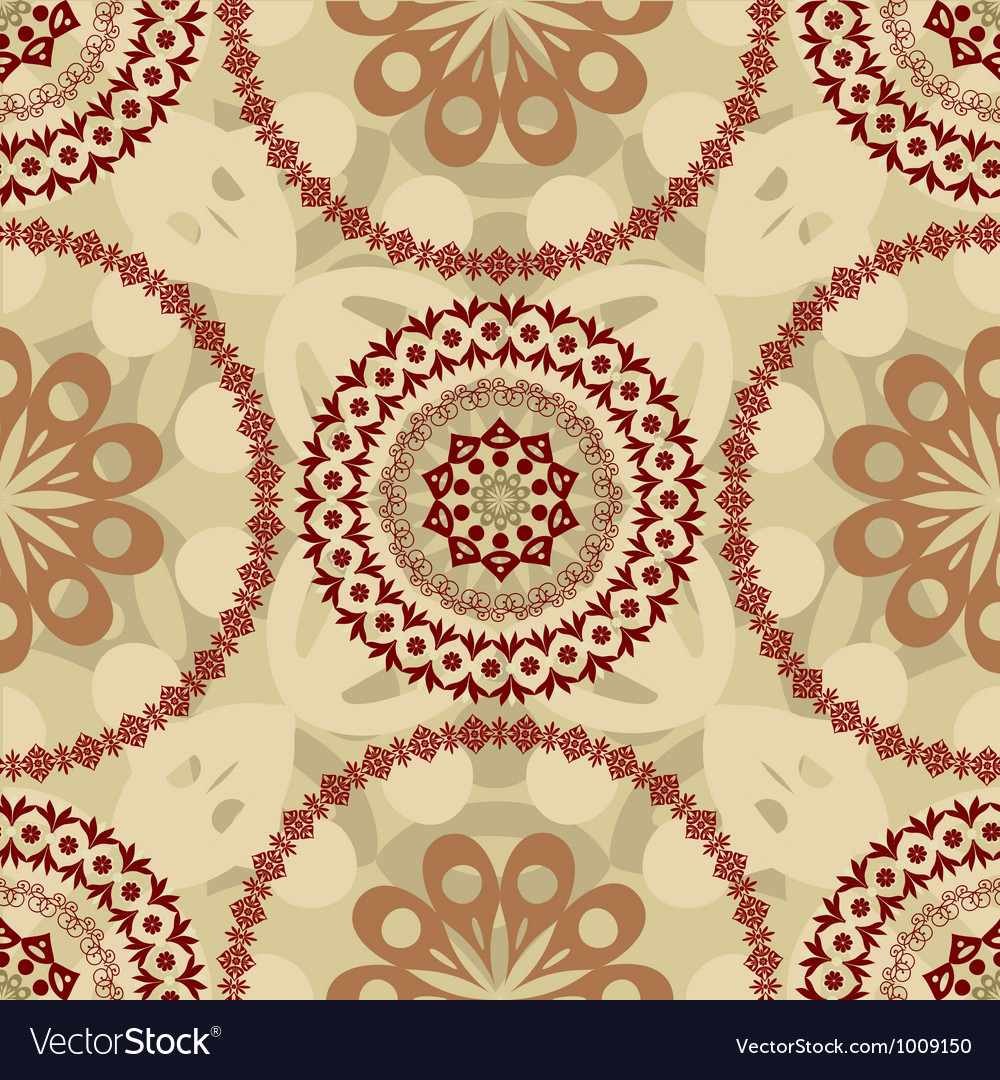 Arabesque seamless3 vector | Price: 1 Credit (USD $1)