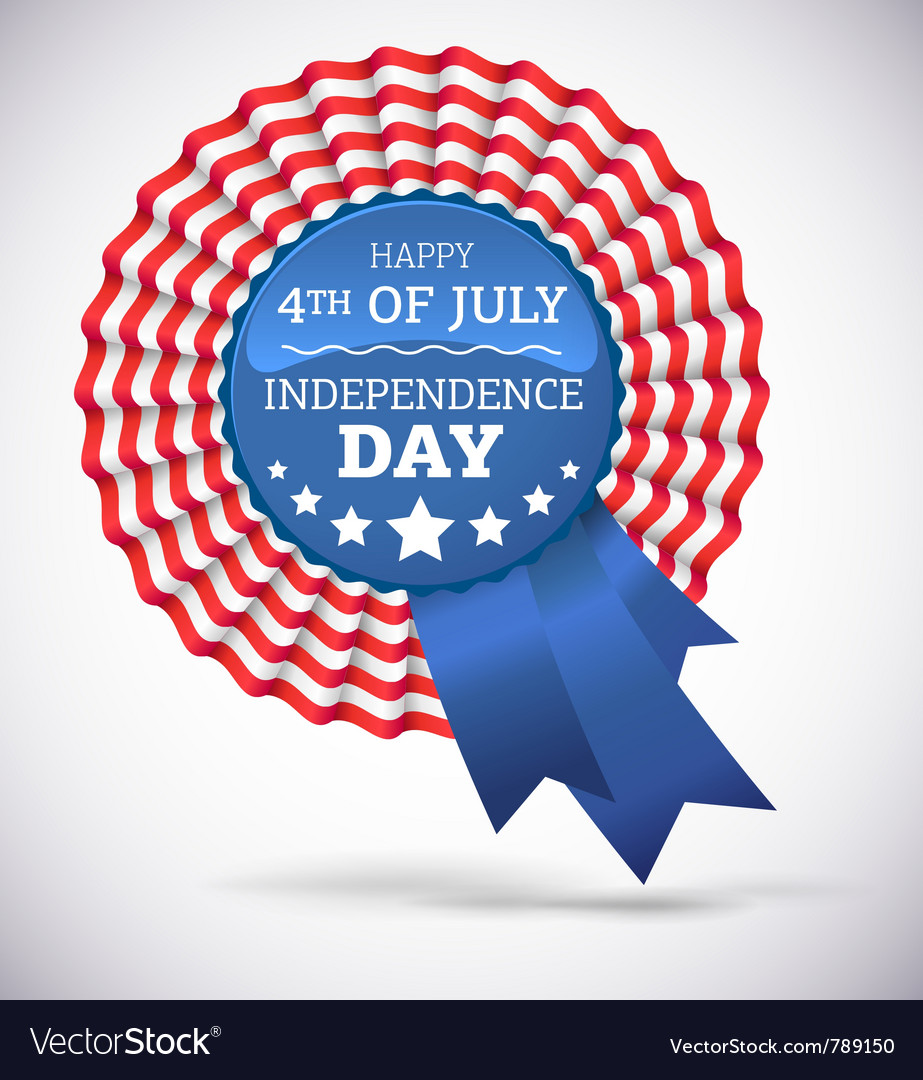 Independence day badge vector   Price: 1 Credit (USD $1)