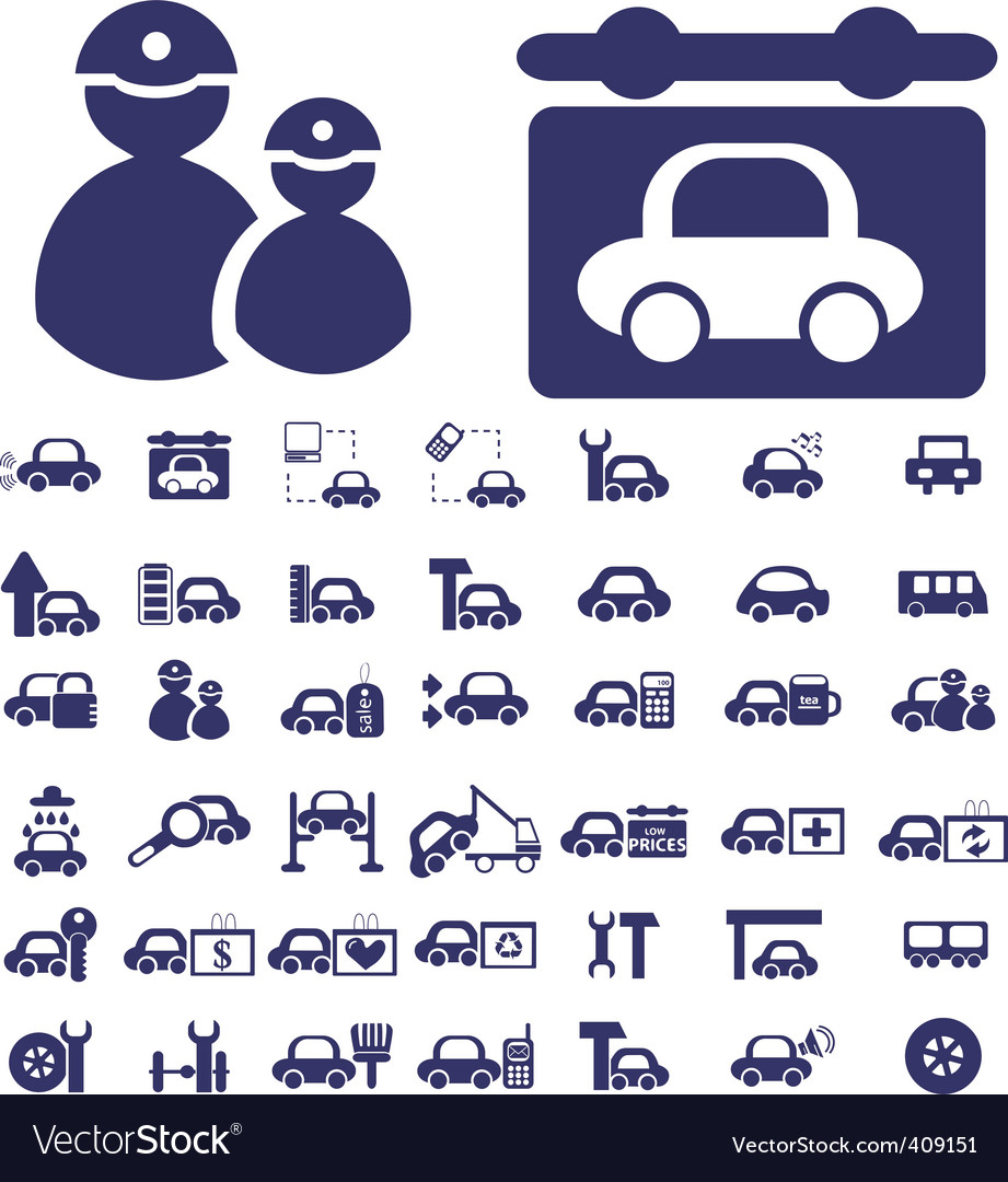 Auto signs vector | Price: 1 Credit (USD $1)