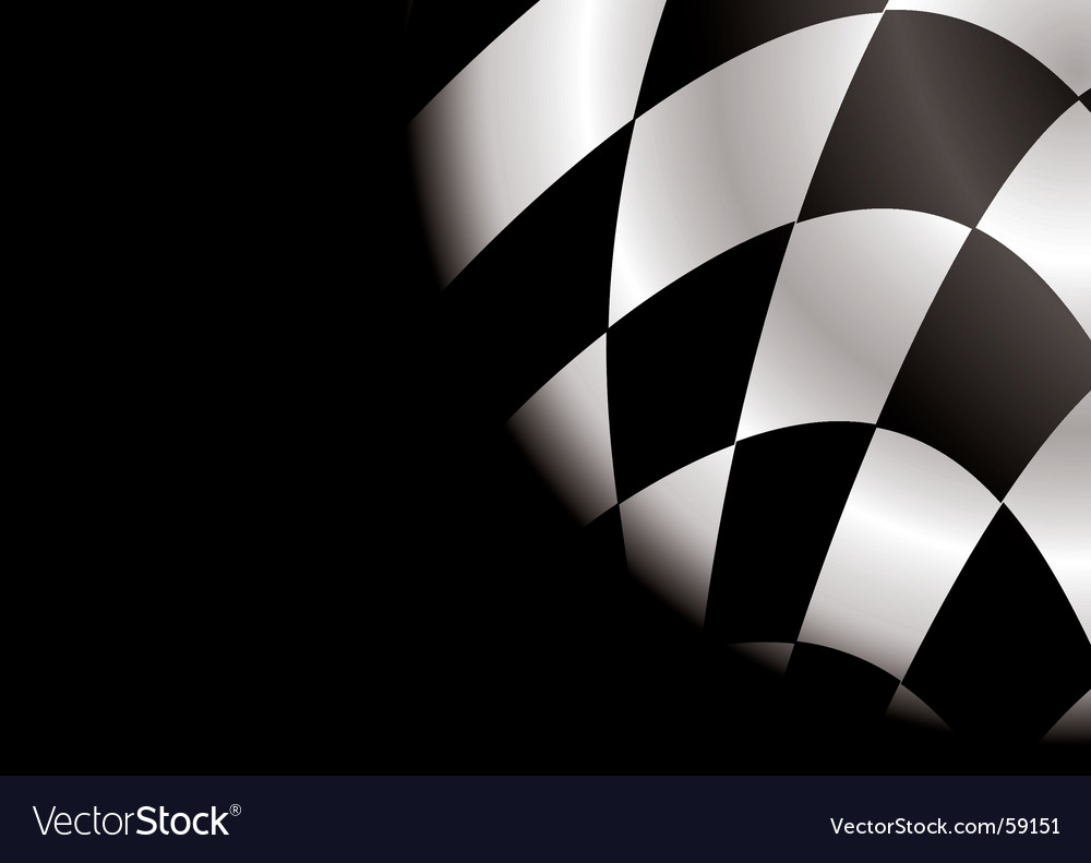 Checkered corner blank vector | Price: 1 Credit (USD $1)