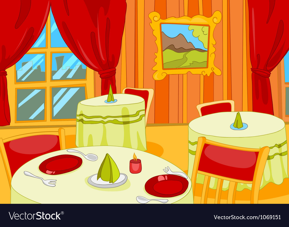 Restaurant vector | Price: 1 Credit (USD $1)